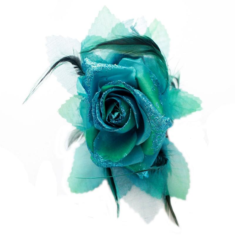 pince cheveux crabe mariage plumes scintillant rose rouge bleu gris vert. Black Bedroom Furniture Sets. Home Design Ideas