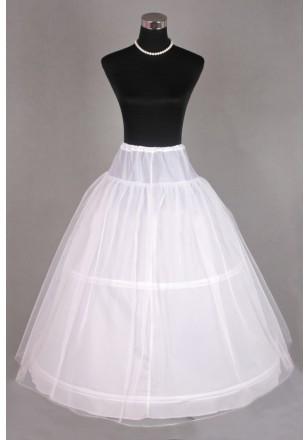Jupon de robe mariage 2 cerceaux double tulles for Robes de mariage double baie