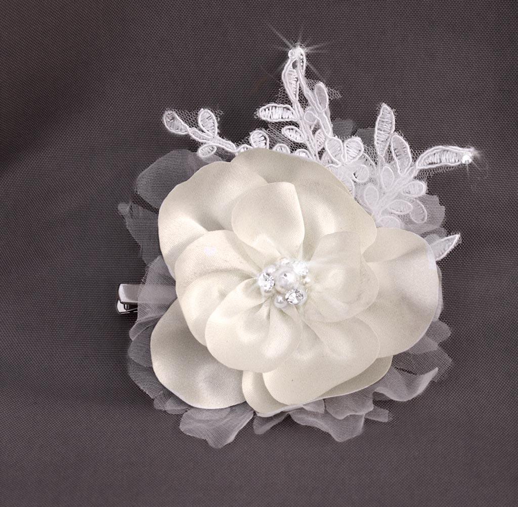 Fleurs de mariage en tissu