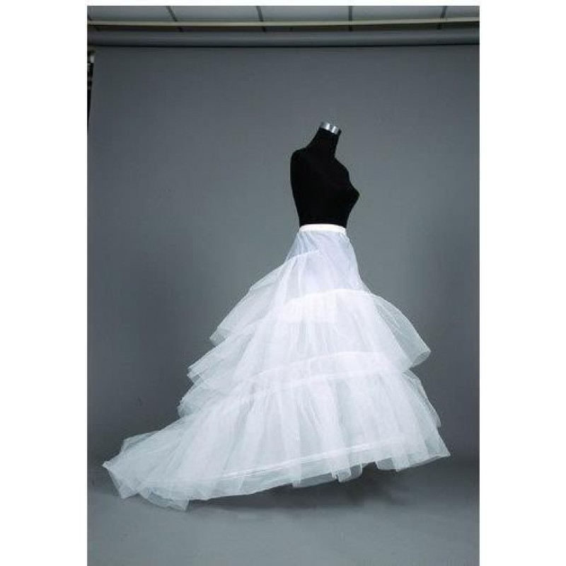 jupon de mariage robe marie traine 3 cerceaux - Jupon Mariage 3 Cerceaux