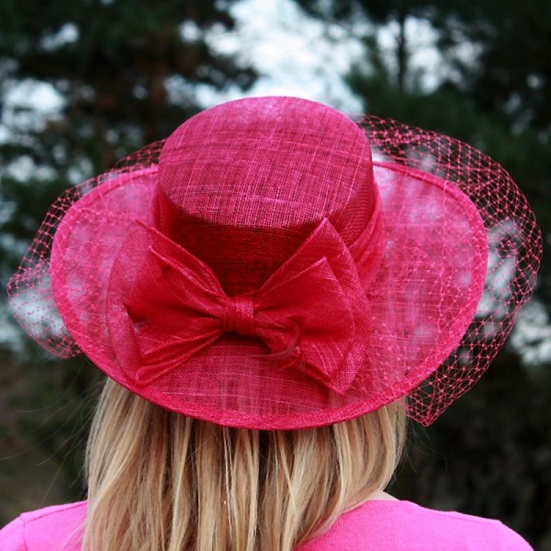 chapeau mariage voilette fleur noeud plume bleu rouge rose marron ivoire. Black Bedroom Furniture Sets. Home Design Ideas
