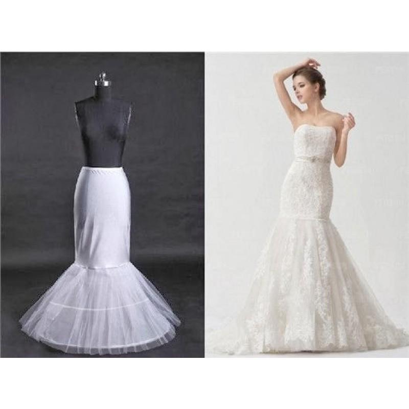 jupon de mariage robe marie sirne 2 cerceaux - Jupon Mariage 2 Cerceaux