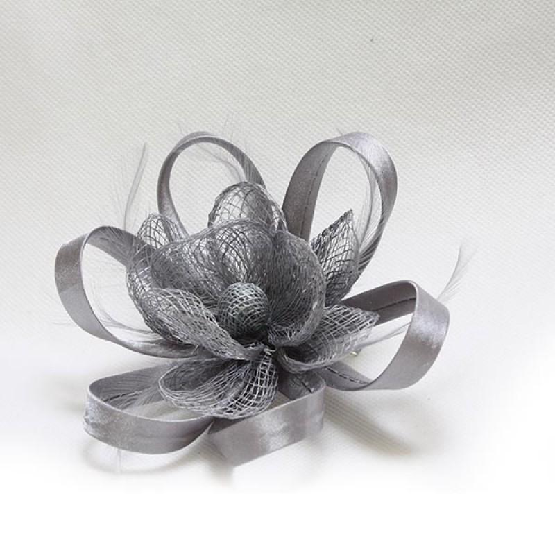 pince broche mariage fleur plumes bouton ruban rouge rose noir bleu gris ivoire or. Black Bedroom Furniture Sets. Home Design Ideas