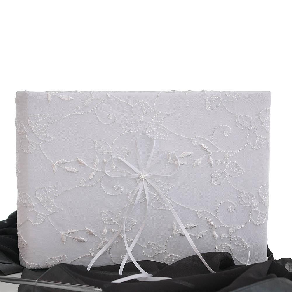 livre d 39 or mariage tulle broderie stylo. Black Bedroom Furniture Sets. Home Design Ideas