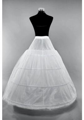 Jupon de Robe Mariage 4 Cerceaux Simple Tulles